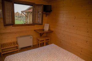 Camera bungalow interno